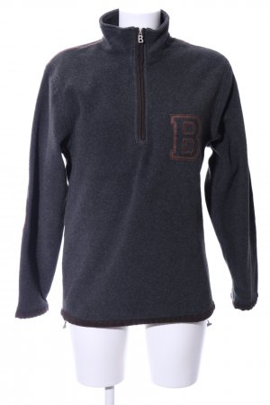 Bogner Sailor Sweater blue-brown flecked casual look