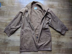Bogner Between-Seasons-Coat beige-light brown cotton