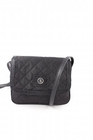 Bogner Crossbody bag black Logo appliqué
