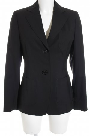 Bogner Unisex-Blazer schwarz Business-Look