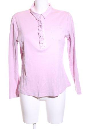 Bogner V-Ausschnitt-Shirt pink Casual-Look