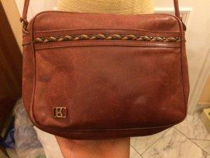 Bogner Vintage Echtleder Tasche braun