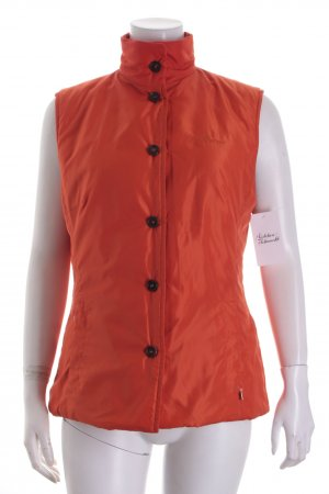 Bogner Wendeweste orange Steppmuster Casual-Look