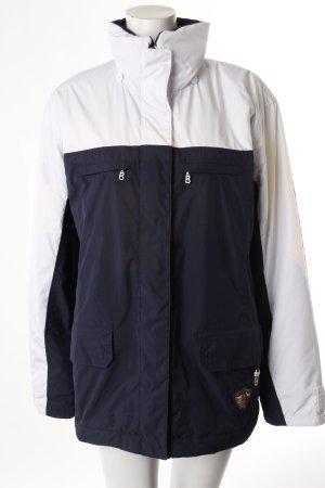 Bogner Winterjacke dunkelblau-weiß