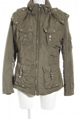 Bogner Winterjacke khaki Glanz-Optik