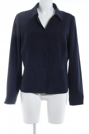 Bogner Woll-Blazer dunkelblau Business-Look