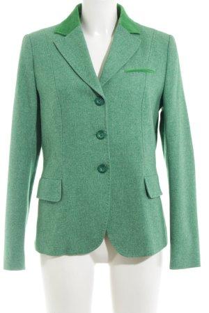 Bogner Woll-Blazer grün meliert Business-Look