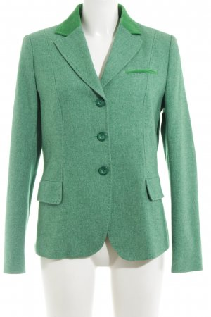 Bogner Blazer de lana verde moteado estilo «business»