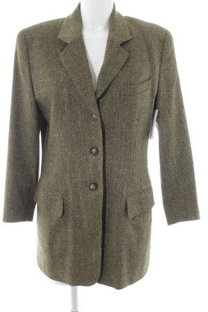Bogner Blazer de lana caqui moteado estilo country
