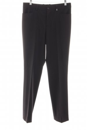 Bogner Woolen Trousers black business style
