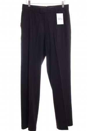 Bogner Wollhose anthrazit Business-Look