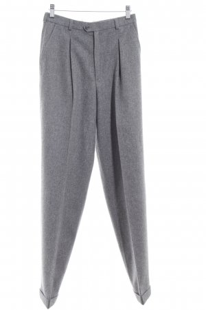 Bogner Woolen Trousers grey casual look
