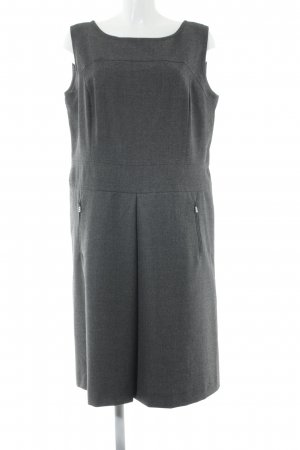 Bogner Wollkleid grau schlichter Stil