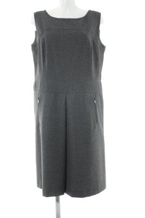 Bogner Robe en laine gris style simple