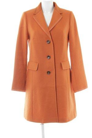 Bogner Wollmantel orange Street-Fashion-Look