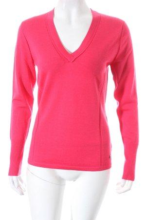 Bogner Wollpullover pink schlichter Stil