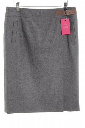 Bogner Wool Skirt grey casual look