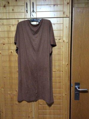 Bohamien Hippie Longshirt aus wildlederimitat