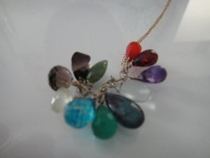 Collier Necklace multicolored
