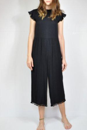 Zara Vestido a media pierna negro