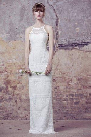 Kelsey Rose Vestido de novia blanco