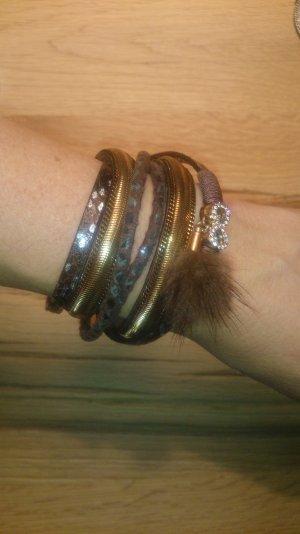 Boho Armband mit Magnetverschluss