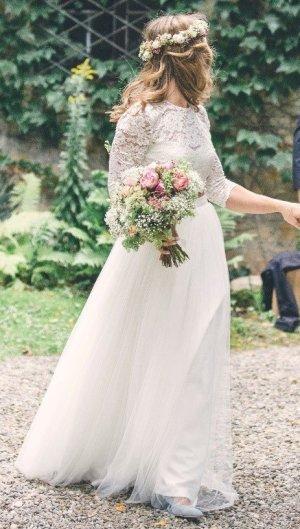 WILLOW Abito da sposa multicolore