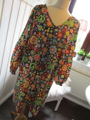 Tunic Dress multicolored polyester