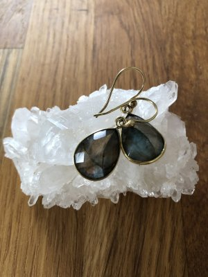 Vintage Statement Earrings gold-colored