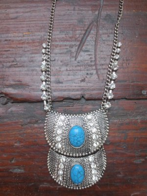Boho, Ethno, Hippie, Festival Statement Tribal Kette