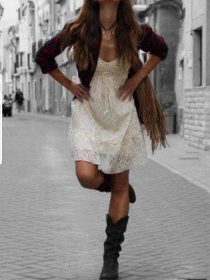 Boho Festival Blogger Vintage Cowboy Stiefel Boots Blogger Trend Musthave