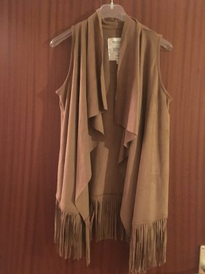 Bershka Kimono Sweater camel