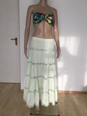 Maxi Skirt baby blue-pale green