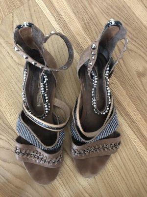 Boho Glam Sandaletten mit Nieten