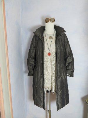 letzte Veröffentlichung preiswert kaufen neue Produkte für Boho Grau Braun Gil Bret Daunen Mantel Steppmantel Gr. 40 Warm Weich  Wintermantel