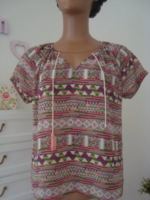 **Boho Hippie Bluse *Ethno Style* Kurzarm* aus Amsterdam**
