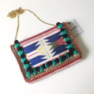 Boho Hippie Crossbody Bag bunt Blogger Style Sommer Must-have Tasche Clutch Festival Umhängetasche