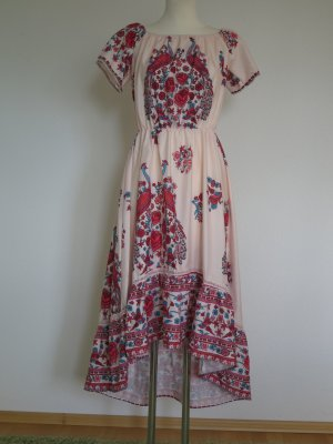 Hippie Dress multicolored polyamide
