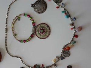 Boho Hippie Ibiza Silberschmuck Steine Goa
