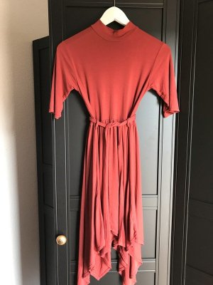 Boho Hippie Kleid Rost Zipfel Free People S 36 Urban Outfitters