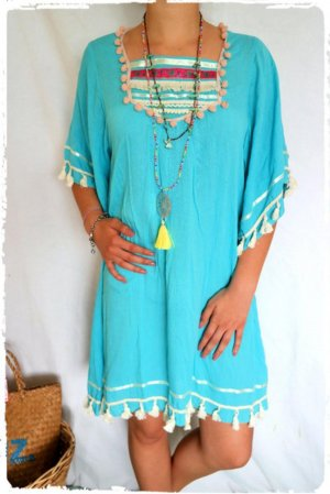Hippie Dress turquoise