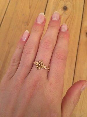 Boho Hippie Ring, gold
