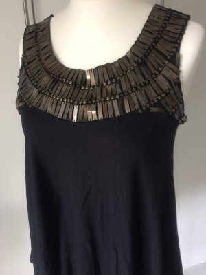 Boho Hippie Top mit Metallapplikationen
