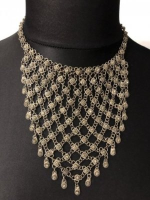 Collar color plata-gris antracita