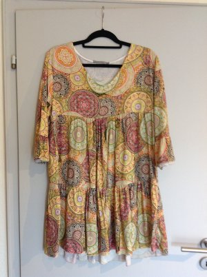 Made in Italy Vestido Hippie multicolor