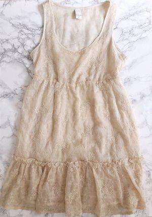 BOHO Kleid in Creme XS