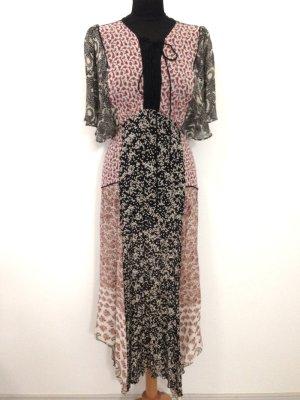 Boho Kleid in Midi Länge von Zara, Gr. L (fällt klein aus!)