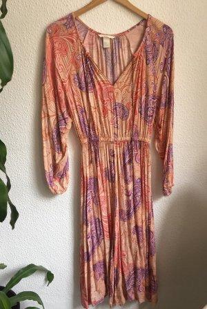 Boho Kleid von H&M 34 XS paisley