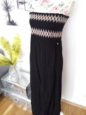 Comma Maxi Dress black-cream
