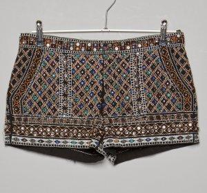 Zara Short moulant multicolore tissu mixte
